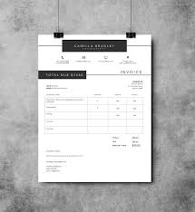 invoice template photography invoice template invoice design receipt template ms word and photoshop invoice