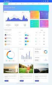 Material Design Website Template Powerful Admin Dashboard Html Template Download Html