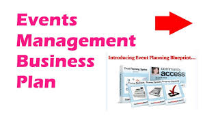Amazing Event Planning Business Events Management Business Plan ...