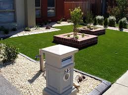 Small Picture Wonderful Modern Front Garden Ideas Australia Landscapes And