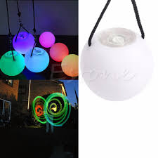 Glow Pro Lighting Us 2 93 10 Off Pro Led Multi Coloured Glow Poi Thrown Balls Light Up For Belly Dance Hand Props In Light Up Toys From Toys Hobbies On