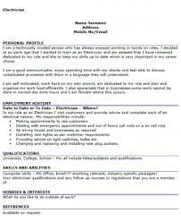 Electrician Sample Resume Maintenance Electrician Resume Resume