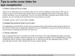 Cover Letter For Spa Therapist Cover Letter For Spa Doritrcatodosco
