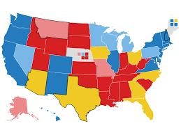 Electoral College Map: Biden's Swing-State Edge, Trump's Path : NPR
