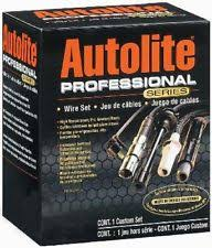 ford f series ignition wires spark plug wire set professional series autolite fits 77 88 ford f 250 4 9l l6