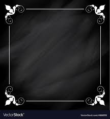 Chalkboard Background Decorative Chalkboard Background Royalty Free Vector Image