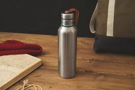 <b>Фляга Water Bottle</b> большая бирюзовая от <b>Black</b>+<b>Blum</b> (арт. BAM ...