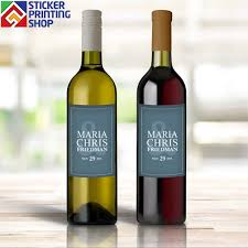 Wine Bottle Stickers Wine Labels That Are Perfectly Printed For Your Wine Bottles