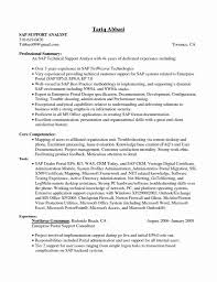 Crm Resume Samples Luxury 53 New Sap Crm Functional Consultant