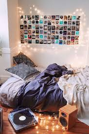 Bedroom: Cool Music Beedroom With String Light Decor - Bedroom Lights