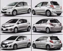 toyota new car release 20122012 Toyota Yaris  Vitz Mini Site Launched in Japan but Leaked