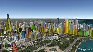 Cube Cities Blog The Chicago Loop Skyline As A 3d Bar Chart
