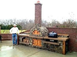 outdoor fireplace and pizza oven decoration kitchen ideas outside oven build a pizza wood fired large outdoor fireplace