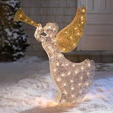 outdoor light decoration ideas angel garden decorations