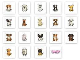 Dog Key Fob Embroidery Designs 70 Designs 36 Dog Breeds Embroidery Design Pack Plus Bonus 18 In The Hoop Key Fobs Plus 16 Holiday Dog Designs