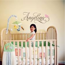Small Picture Aliexpresscom Buy 2016 New Hot Custom Baby Name Wall Stickers A