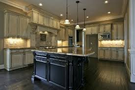 Antique Black Kitchen Cabinets Cool Decorating