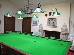 luxury pool table light fixture