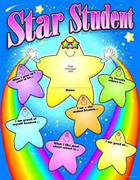 Star Student Pocket Chart Carson Dellosa Star Student Chart 6274