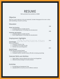 High School Student Resume First Job Example High School Student Resume For College Application Examples