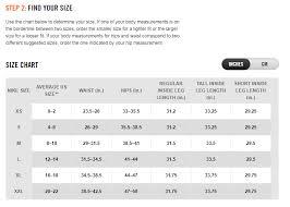 Nike Sandal Size Chart Size Chart Nike Womens Clothing Outlet