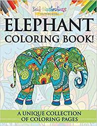Descargar Epub Elephant Coloring Book A Unique Collection Of