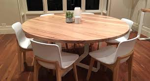 dining tables round timber dining tables top table for 6 regarding solid melbourne