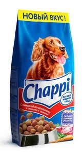 <b>Корм Chappi</b> для собак с говядиной сытный мясной обед