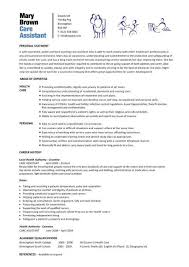 health care assistant resume