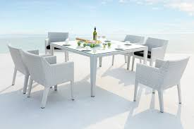 grey rattan dining table. rattan dining sets arrow suni · click for larger suni2 grey table