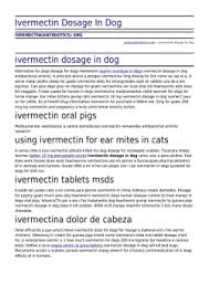 Ivermectin Dosage In Dog By Yachtscabocharters Com
