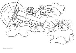 Disegni Da Colorare Per Bambini Aviatore E Aereo Disegni Mammafelice
