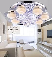 Rgb Kristall Led Deckenleuchte Kronleuchter Wohnzimmer Voll