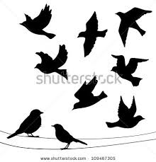 blue bird flying silhouette.  Bird Premium Vectors Sponsored Results By Shutterstock Inside Blue Bird Flying Silhouette R