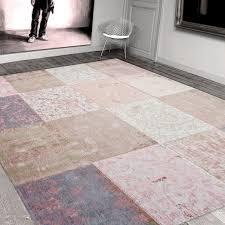 Pink Rugs For Living Room Louis De Poortere Rugs Vintage Multi 8238 Bolshoi Pink