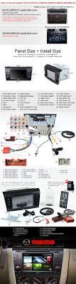radio gps eonon 5151z special mazda 3 touch screen 7 multitronic radio gps especial mazda 3 eonon d5151z 04g