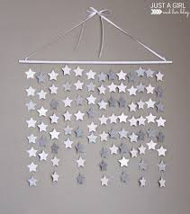 paper star wall art easy diy just a girl and her blog