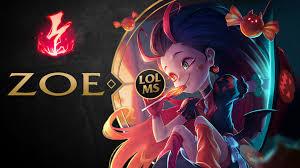 Zoe Wallpaper League Of Legends - LoL ...