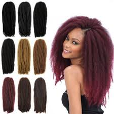 Afro Braid Hair Style free sample fashion hair synthetic kinky crochet twist hair bulk 5397 by wearticles.com