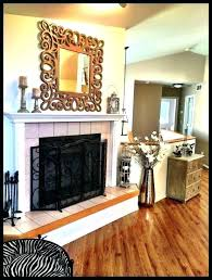 rustic fireplace decor rustic modern fireplace ideas modern fireplace decor rustic modern fireplace decor mirror living