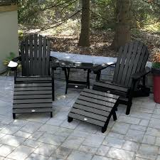 plastic adirondack chairs and tables longs tides deerpark plastic resin folding adirondack chairs plastic adirondack chair