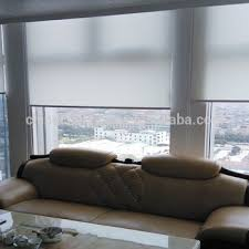office window blinds. Electric Indoor Sunscreen One Way Office Window Roller Blinds