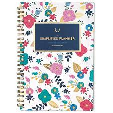 Planner 5 Amazon Com Emily Ley 2019 Weekly Monthly Planner The Simplified