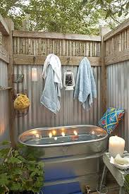 diy outdoor shower ideas outdoor bath outdoor shower enclosure ideas diy