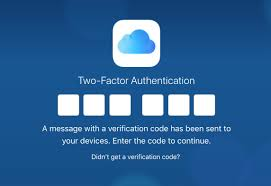 two factor authentication for icloud