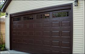dark brown garage doorsBrown Garage Doors Popular On Chamberlain Garage Door Opener And