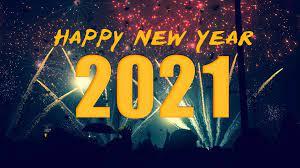 Happy New Year 2021 desktop background ...