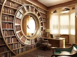 Circular Bookshelf 05