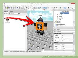 How To Create A Shirt On Roblox How To Make A Vip T Shirt Door On Roblox 3 Steps Wikihow