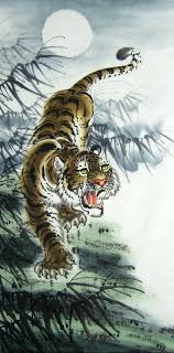 chinese tiger drawing. Fine Tiger Tiger66cm X 136cm26 534694001z Throughout Chinese Tiger Drawing G